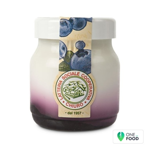 Vollmilchjoghurt Mit Extra Blaubeermarmelade Chiuro